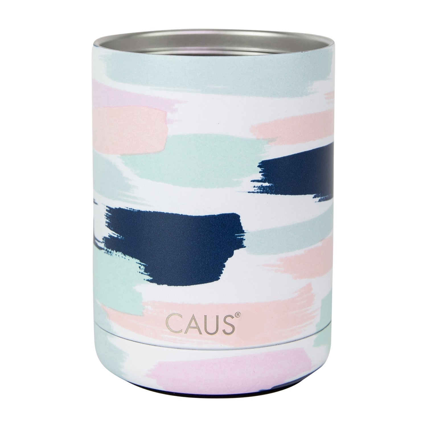 Stainless Can Cooler - Pretty In Paint