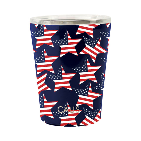 Stainless Coffee Tumbler - Stars & Stripes