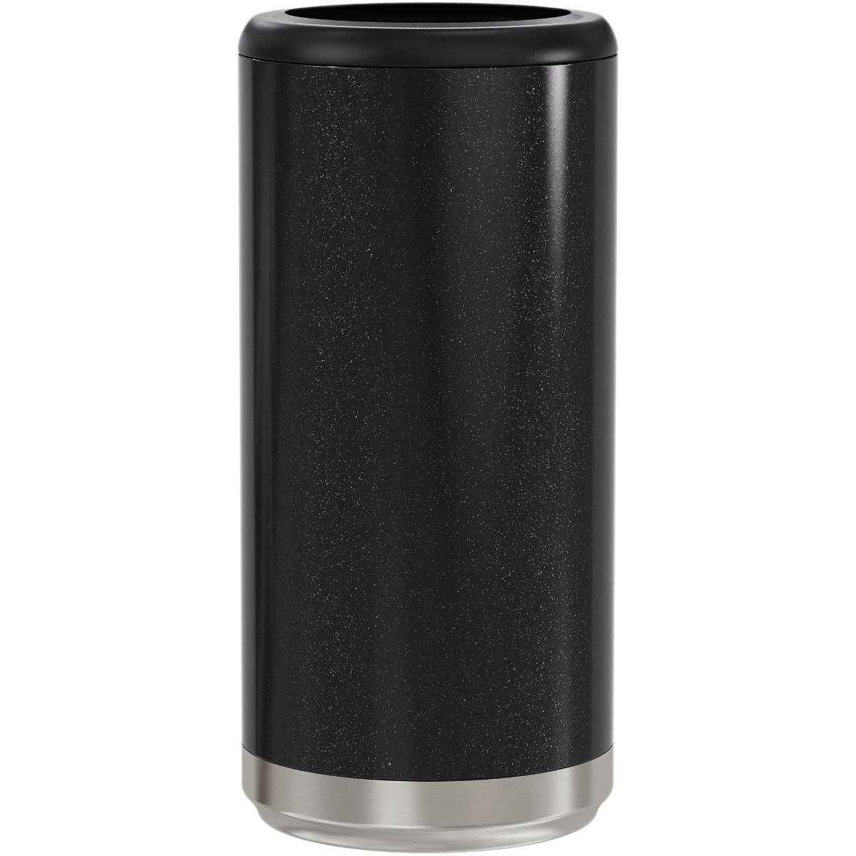 Skinny Can Cooler - Glitter Black