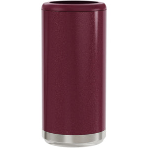Skinny Can Cooler - Glitter Rosewood
