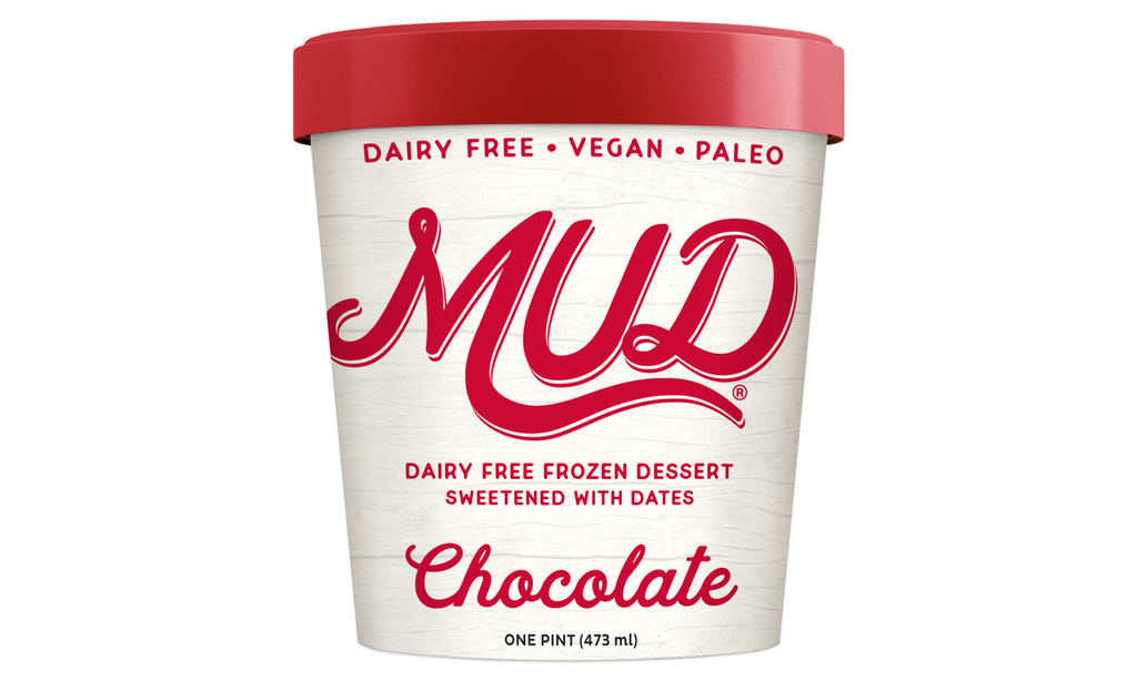 Dairy Free Chocolate Ice Cream with No Added Sugar- Eat MUD