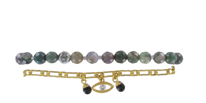 Bracelet Osiris * Green Forest