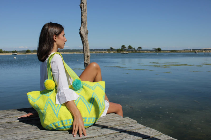 Tote Bag Mulholland * Jaune Acidulé