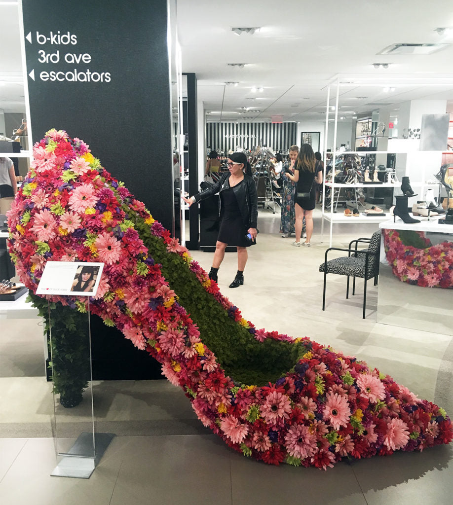 Shoe designed by Mary Esposito