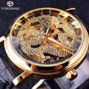 Image of Chinese Dragon Skeleton Transparent Watch