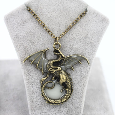 Radiant Dragon Necklace
