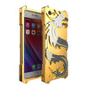Image of Dragon Shockproof Metal Back Cover Cases For I phones