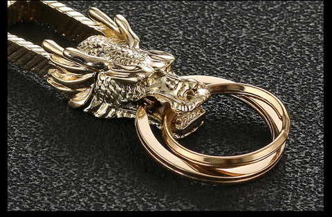 Dragon Car Key Chain Ring Holder