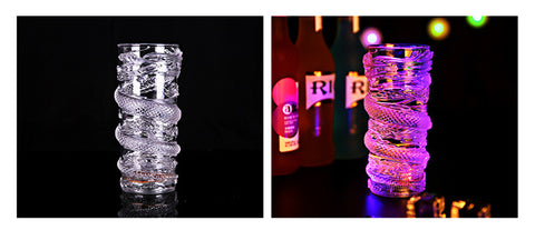 LED Light Dragon Decoration Luminous Drink Cup