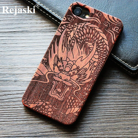 Dragon Wood Phone Case For iPhone's and Samsung Galaxy's
