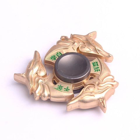 Golden Dragon Zinc Alloy Fidget Spinner