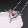 Image of Double Dragon Necklace