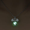Image of Retro Ancient Dragon Glow in the Dark Necklace