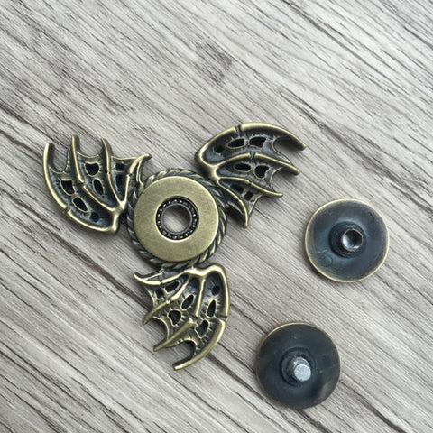Wings of the Dragon Magic Eye Metal Fidget Spinner