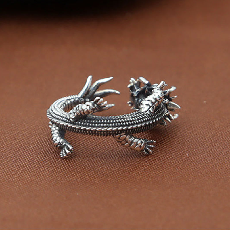 gecko dp sterling jewelry amazon rings ring lizard silver com