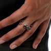 Image of Solid 925 Sterling Silver Dragon Ring