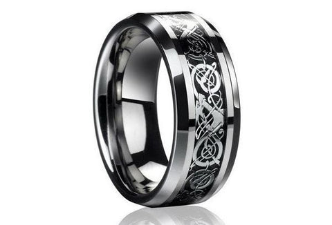 High Quality Celtic Dragon Stainless Steel Ring