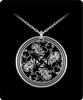 Image of Dragon Head Laser Engraved Necklace