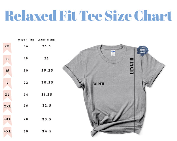 Mama (Left Chest) Relaxed Fit Tee