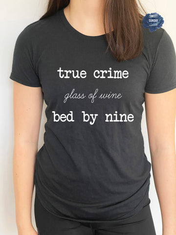 True Crime Fitted Tee