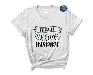 Teach Love Inspire Relaxed Fit Tee