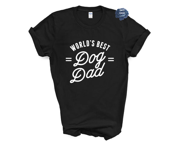 World's Best Dog Dad Unisex Tee