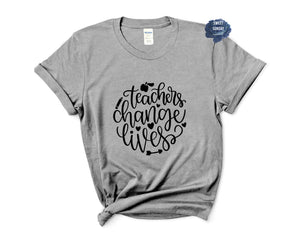 Teachers Change Lives Relaxed Fit Tee