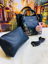 Load image into Gallery viewer, 2 Pcs Flower Hand Bag for Women-Export Fit
