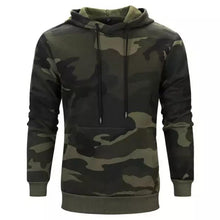 Load image into Gallery viewer, Army Camo Hoodie For Mens-Export Fit