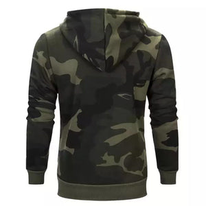 Army Camo Hoodie For Mens-Export Fit