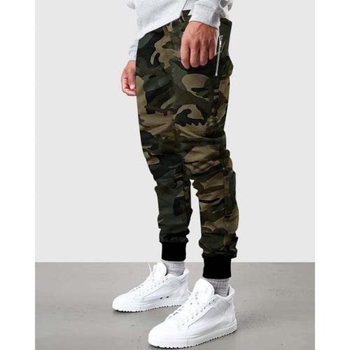 Army Camo Trouser For Men-Export Fit