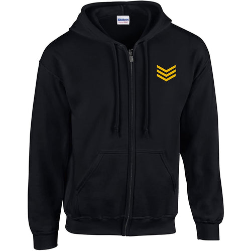 Army Style Zipper Hoodie For Men-Export Fit