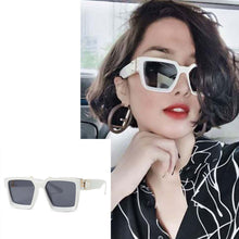 Load image into Gallery viewer, Badshah Millionaire Square Sunglasses For Women-Export Fit