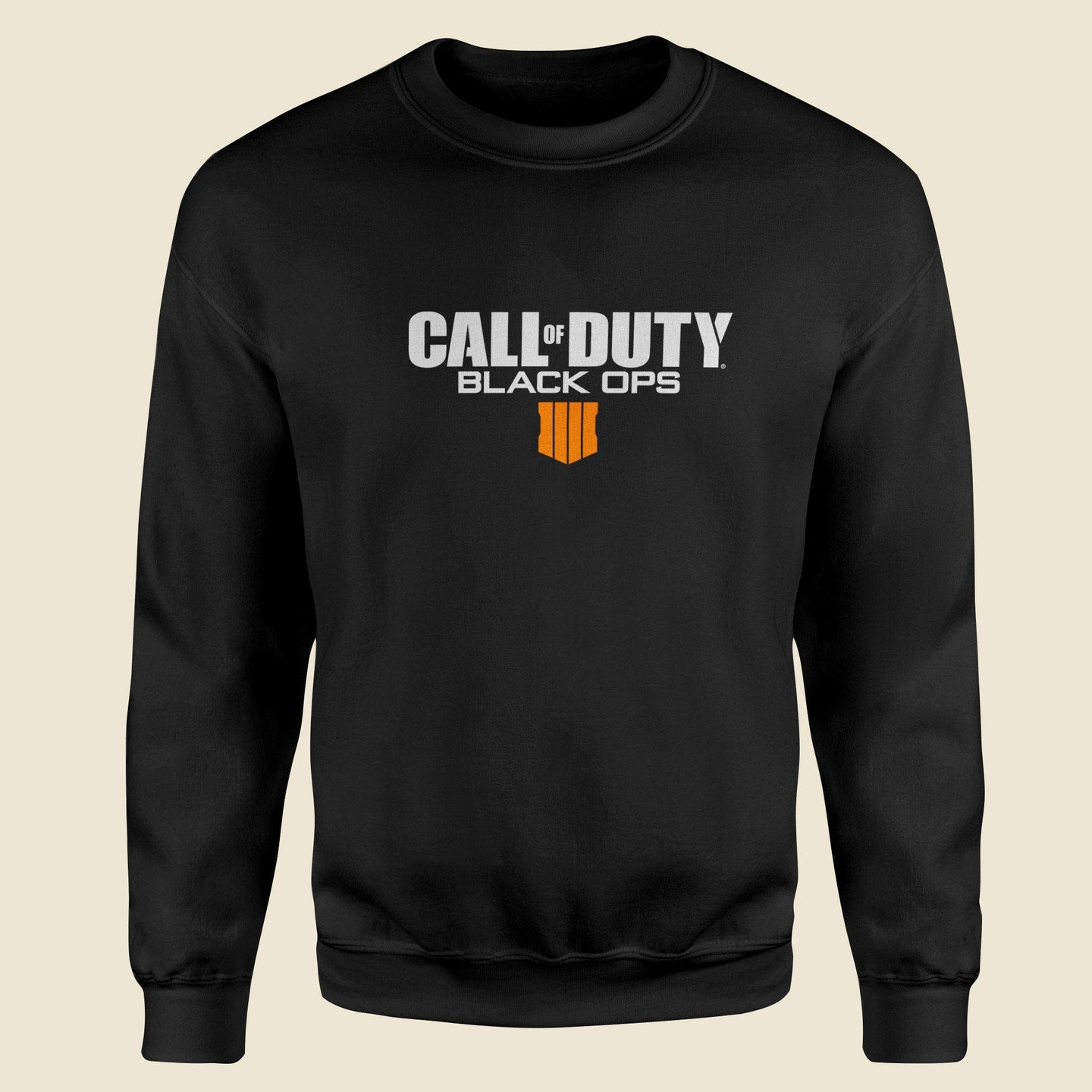 Call Of Duty Black Sweatshirt-Export Fit