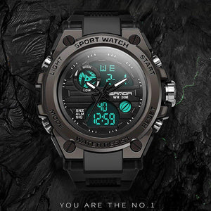 H-Shock Digital & Analogue Watch-Export Fit