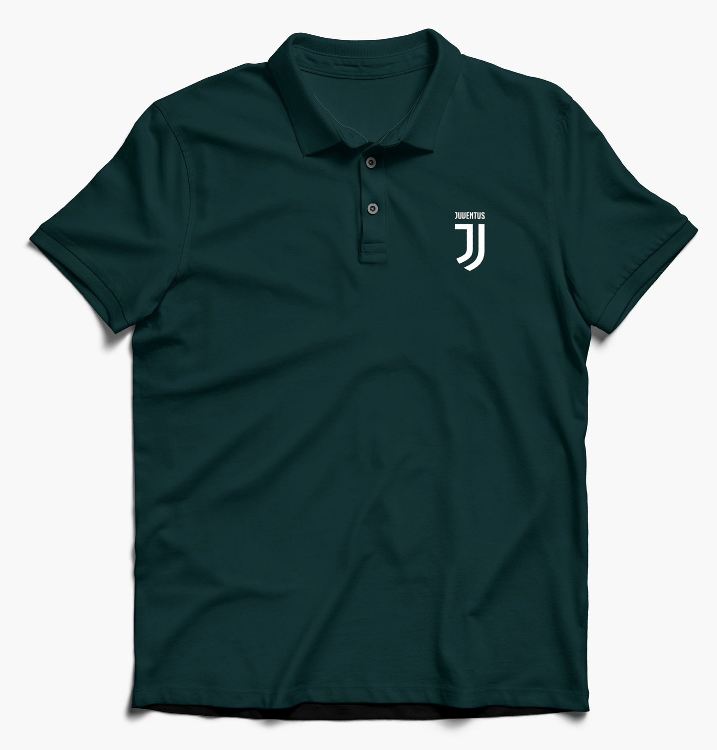 Juventus Half Sleeves Polo T-Shirt For Men-Export Fit