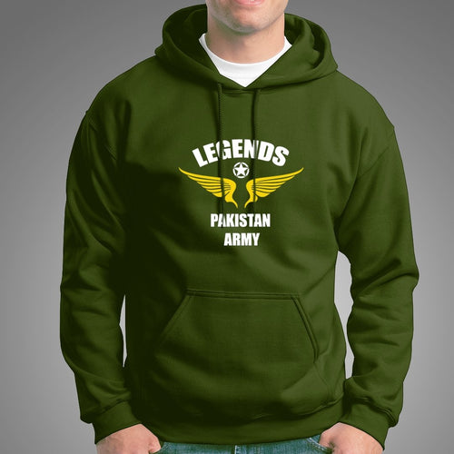 Legends Pakistan Army Hoodie For Mens-Export Fit