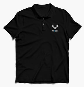 Messi Half Sleeves Polo T-Shirt For Men-Export Fit