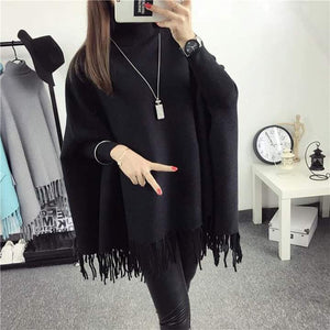 Winter Poncho For Girls