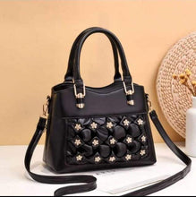 Load image into Gallery viewer, Soft Leather Flower Long Belt Hand Bag for Women-Export Fit