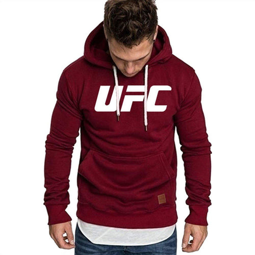 UFC Fighter Hoodie For Men-Export Fit