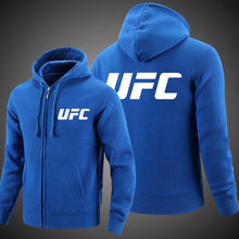 Load image into Gallery viewer, UFC Fighter Zipper Hoodie For Men-Export Fit