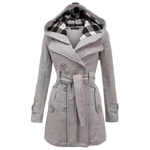 Winter Long Coat For Women-Export Fit