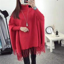 Load image into Gallery viewer, Winter Poncho For Girls-Export Fit