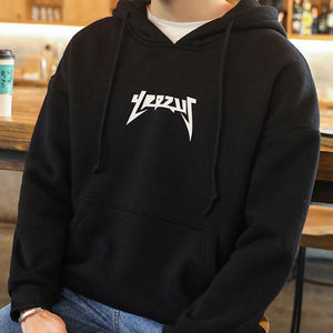 YEEZUS Black Hoodie For Mens-Export Fit