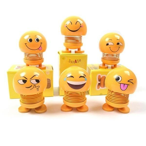 602 Emoticon Figure Smiling Face Spring Doll