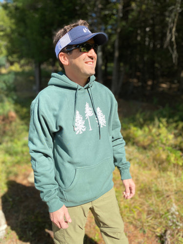 Three Pines Heavy Hoodie: The Trout