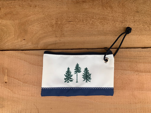 Three Pines Sea Bags® Wristlet: The Loon by The Woods Maine