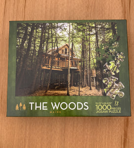 The Woods Maine Treehouse Puzzle