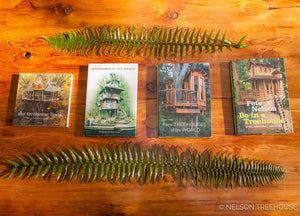 Be in a Treehouse by Pete Nelson - SIGNED COPY!